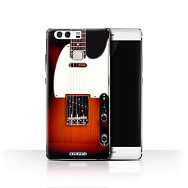 STUFF4 Case/Cover for Huawei P9 / Sunburst Electric Design / Guitar Collection Mobile phones