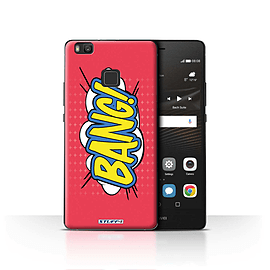 STUFF4 Case/Cover for Huawei P9 Lite / Bang! Design / Comics/Cartoon Words Collection Mobile phones