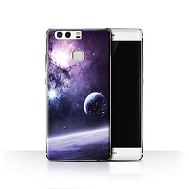 Official Chris Cold Case/Cover for Huawei P9 / Planet/Moon Design / Alien World Cosmos Collection Mobile phones