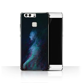Official Chris Cold Case/Cover for Huawei P9 / Ghost/Ghoul Design / Dark Art Demon Collection Mobile phones