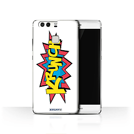 STUFF4 Case/Cover for Huawei P9 / Krunch Design / Comics/Cartoon Words Collection Mobile phones