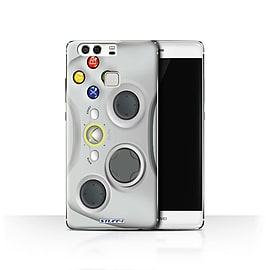 STUFF4 Case/Cover for Huawei P9 / White Xbox 360 Design / Games Console Collection Mobile phones