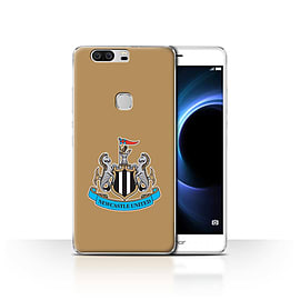 Official Newcastle United FC Case/Cover for Huawei Honor V8/Colour/Gold Design/NUFC Football Crest Mobile phones