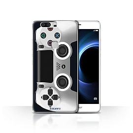 STUFF4 Case/Cover for Huawei Honor V8 / White Design / Playstation PS4 Collection Mobile phones