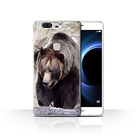 STUFF4 Case/Cover for Huawei Honor V8 / Bear Design / Wildlife Animals Collection Mobile phones