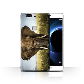 STUFF4 Case/Cover for Huawei Honor V8 / Elephant Design / Wildlife Animals Collection Mobile phones