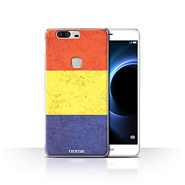 STUFF4 Case/Cover for Huawei Honor V8 / Romania/Romanian Design / Flags Collection Mobile phones