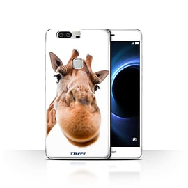 STUFF4 Case/Cover for Huawei Honor V8 / Closeup Giraffe Design / Funny Animals Collection Mobile phones