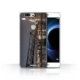 STUFF4 Case/Cover for Huawei Honor V8 / London's Burning Design / Imagine It Collection Mobile phones