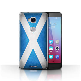 STUFF4 Case/Cover for Huawei Honor 5X/GR5 / Scotland/Scottish Design / Flags Collection Mobile phones