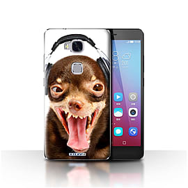 STUFF4 Case/Cover for Huawei Honor 5X/GR5 / Ridiculous Dog Design / Funny Animals Collection Mobile phones