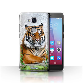 STUFF4 Case/Cover for Huawei Honor 5X/GR5 / Tiger Design / Wildlife Animals Collection Mobile phones