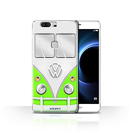 STUFF4 Case/Cover for Huawei Honor V8 / Green Design / VW Camper Van Collection Mobile phones