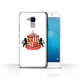 Official Sunderland AFC Case/Cover for Huawei Honor 5c/White Design/SAFC Football Club Crest Mobile phones