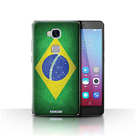 STUFF4 Case/Cover for Huawei Honor 5X/GR5 / Brazil/Brazilian Design / Flags Collection Mobile phones