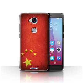 STUFF4 Case/Cover for Huawei Honor 5X/GR5 / China/Chinese Design / Flags Collection Mobile phones