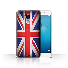 STUFF4 Case/Cover for Huawei Honor 5c / Great Britain/British Design / Flags Collection Mobile phones
