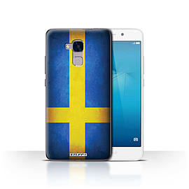 STUFF4 Case/Cover for Huawei Honor 5c / Sweden/Swedish Design / Flags Collection Mobile phones