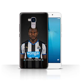 Official Newcastle United FC Case/Cover for Huawei Honor 5c/Mbemba Design/NUFC Football Player 15/16 Mobile phones