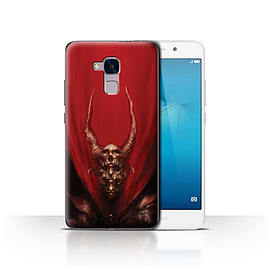 Official Chris Cold Case/Cover for Huawei Honor 5c / Red Duke Design / Dark Art Demon Collection Mobile phones