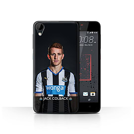 Official Newcastle United FC Case/Cover for HTC Desire 825/Colback Design/NUFC Football Player 15/16 Mobile phones