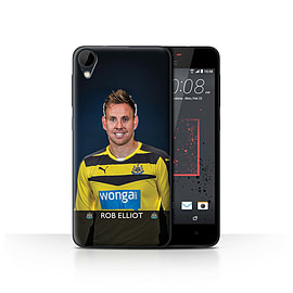 Official Newcastle United FC Case/Cover for HTC Desire 825/Elliot Design/NUFC Football Player 15/16 Mobile phones