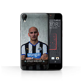 Official Newcastle United FC Case/Cover for HTC Desire 825/Shelvey Design/NUFC Football Player 15/16 Mobile phones