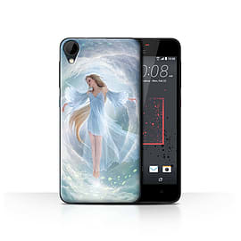 Official Elena Dudina Case/Cover for HTC Desire 825 / Air Dress Design / Fantasy Angel Collection Mobile phones