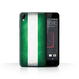 STUFF4 Case/Cover for HTC Desire 825 / Nigeria/Nigerian Design / Flags Collection Mobile phones