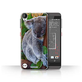 STUFF4 Case/Cover for HTC Desire 630 / Koala Bear Design / Wildlife Animals Collection Mobile phones