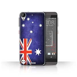 STUFF4 Case/Cover for HTC Desire 630 / Australia/Australian Design / Flags Collection Mobile phones