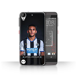 Newcastle United FC Case/Cover for HTC Desire 630/Lascelles Design/NUFC Football Player 15/16 Mobile phones