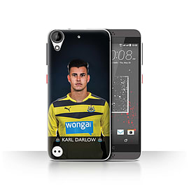 Official Newcastle United FC Case/Cover for HTC Desire 530/Darlow Design/NUFC Football Player 15/16 Mobile phones