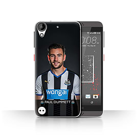 Official Newcastle United FC Case/Cover for HTC Desire 530/Dummett Design/NUFC Football Player 15/16 Mobile phones