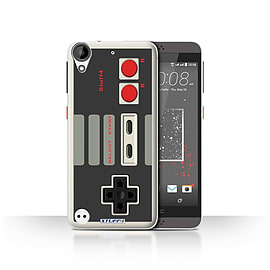 STUFF4 Case/Cover for HTC Desire 630 / Nintendo Classic Design / Games Console Collection Mobile phones