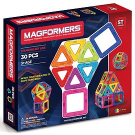 Magformers 30 Piece Set Blocks and Bricks