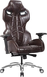 EarthCroc | Luxury Genuine Oil-Waxed Leather Executive Office Racing Gaming Chair Y-3000-Alien Multi Format and Universal