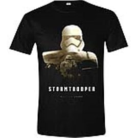 STAR WARS VII Men's The Force Awakens StormTrooper - Rule The Galaxy T-Shirt Medium Clothing