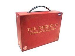 The Thick Of It - Series 1-4 Boxset (DVD) (C-18) DVD