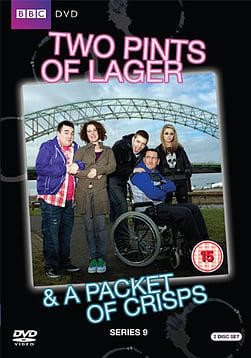 Two Pints Of Lager & A Packet Of Crisps Series 9 (DVD) (C-15) DVD