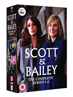 Scott & Bailey Series 1-4 Box Set (DVD) (C-15) DVD