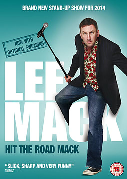 Lee Mack - Hit The Road Mack (DVD) (C-15) DVD