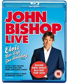 John Bishop Live: Elvis Has Left The Building Tour (Blu-ray) (C-15) Blu-ray
