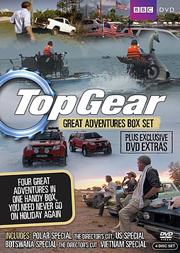 Top Gear: Great Adventures Volume 1 & 2 Box Set (DVD) DVD