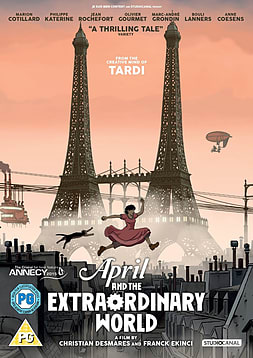 April And The Extraordinary World (DVD) DVD