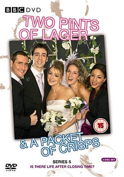 Two Pints Of Lager & A Packet Of Crisps Series 5 (DVD) (C-15) DVD