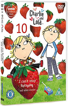 Charlie And Lola 10: I Can't Stop Hiccupping! & Other Stories (DVD) (C-U) DVD