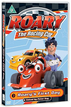 Roary The Racing Car: Roary's First Day (DVD) (C-U) DVD