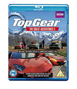 Top Gear: The Great Adventures 5 (Blu-ray) (C-PG) Blu-ray