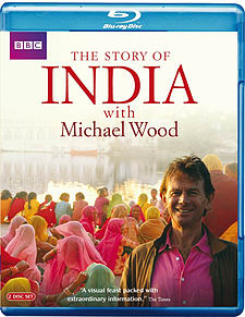 India - The Story Of With Michael Wood (Blu-ray) Blu-ray